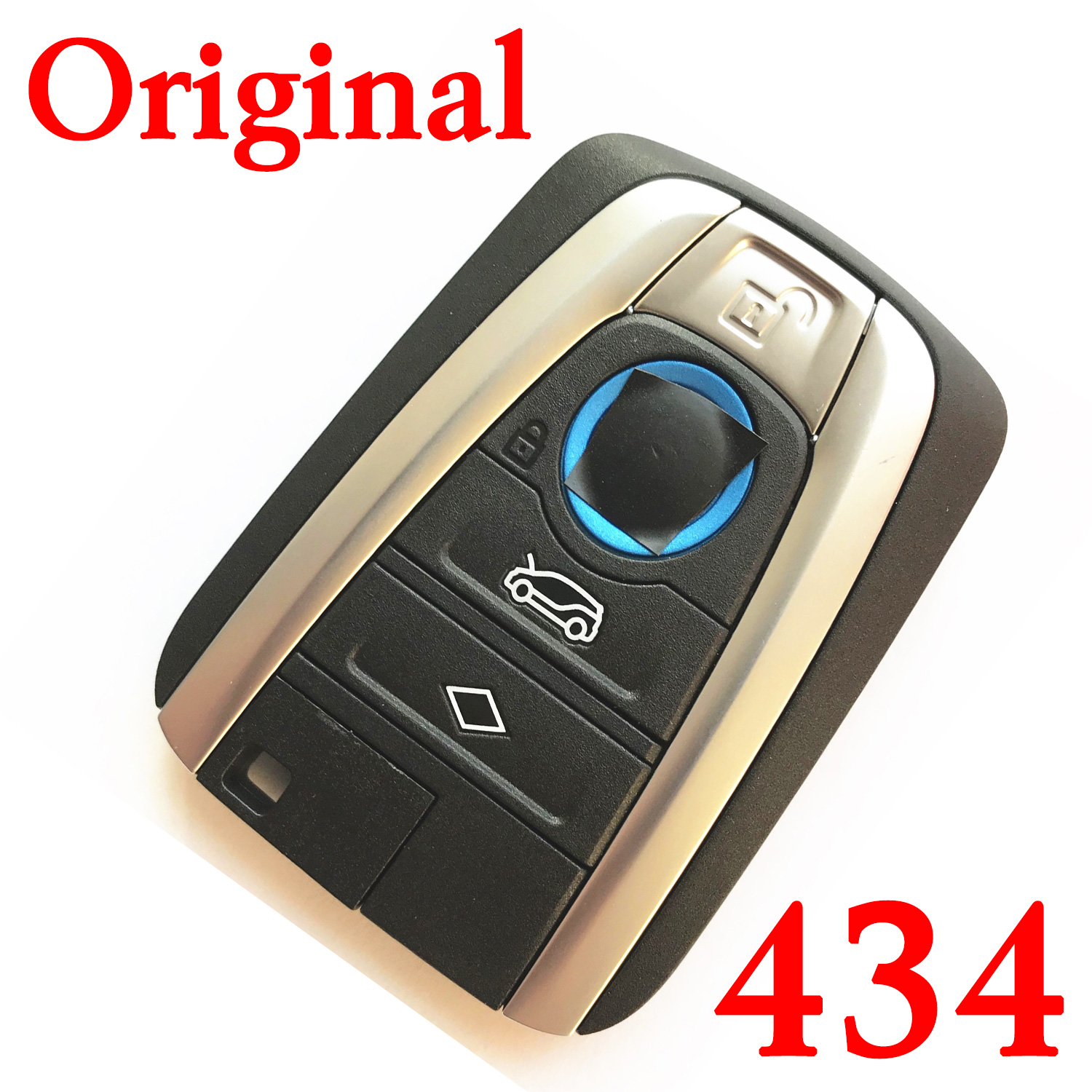 Original 434 MHz Smart Proximity Key for 2015-2017 BMW i3 / i8 / - CAS4+ FEM with Trunck