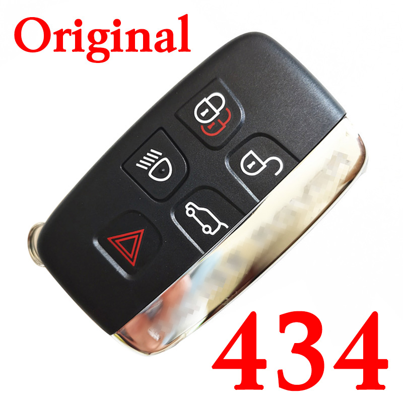 Original 5 Buttons 434 MHz Smart Proximity Key for 2011~2018 Range Rover