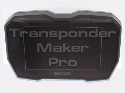 TMPro Software Module 209- For Ducati Panigale V4 dashboard COBO