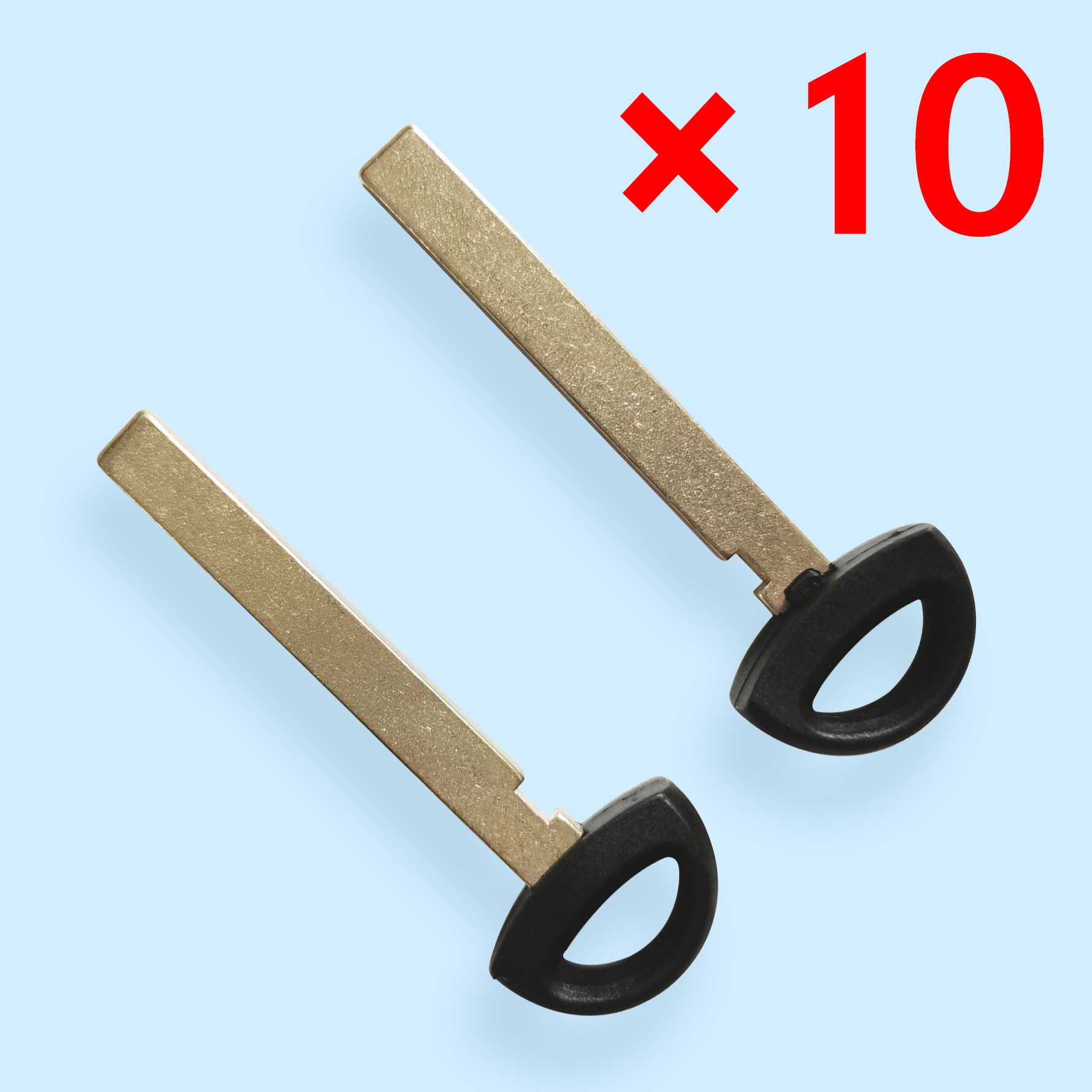 Emergnecy Key Blade for BMW Mini R55 R56 R57 R58 R59 R60 - Pack of 10