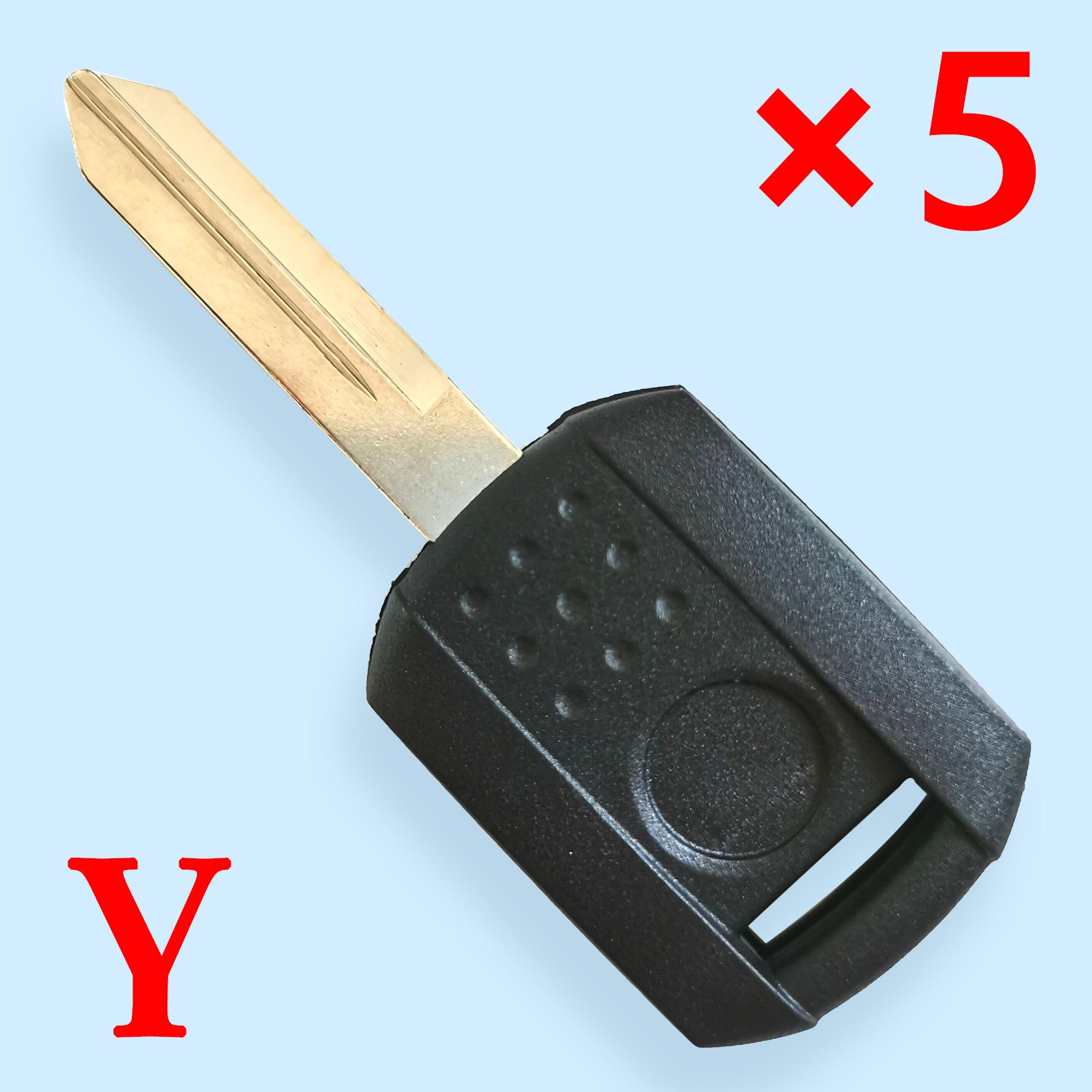 Transponder Key Shell for Mercury - Pack of 5