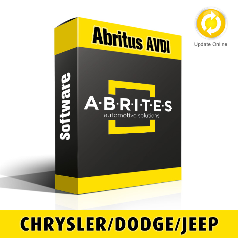 CR006 Chrysler/Dodge/Jeep Instrument Cluster Data Advanced Configuration - Reading and Updating Configuration Memory In Instrument Clusters Software for Abritus AVDI