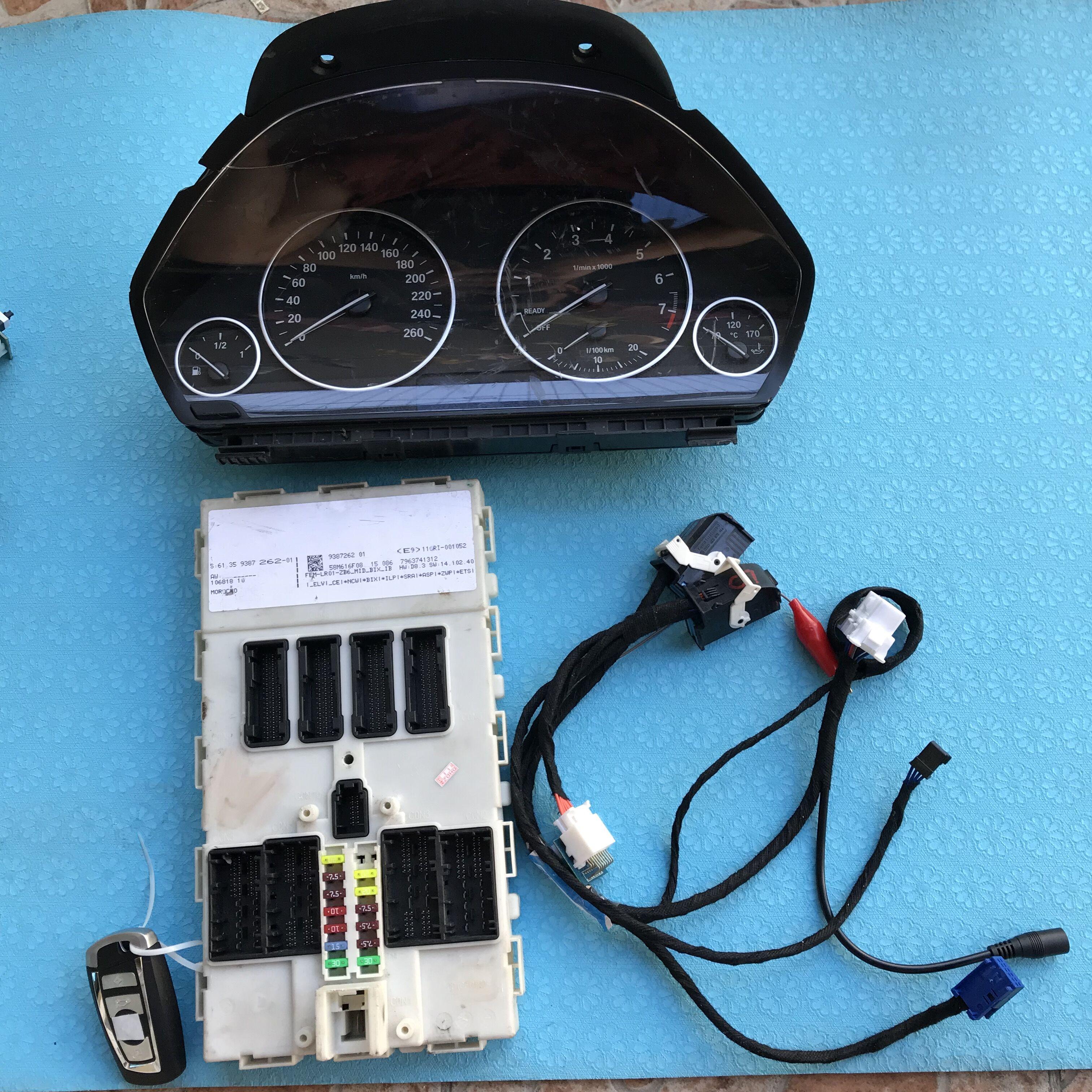 BMW FEM Test Platform Full Set with DashBoard & FEM Key