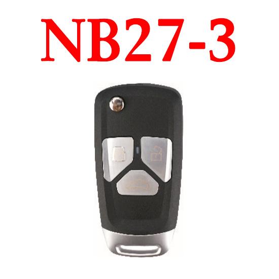 KEYDIY NB27-3 KD Universal Remote control - 5 pcs