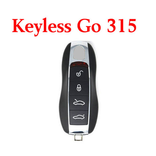 315 MHz 4 Buttons Smart Proximity Key for Porsche 2010-2017 - KR55WK50138 - with KYDZ Board