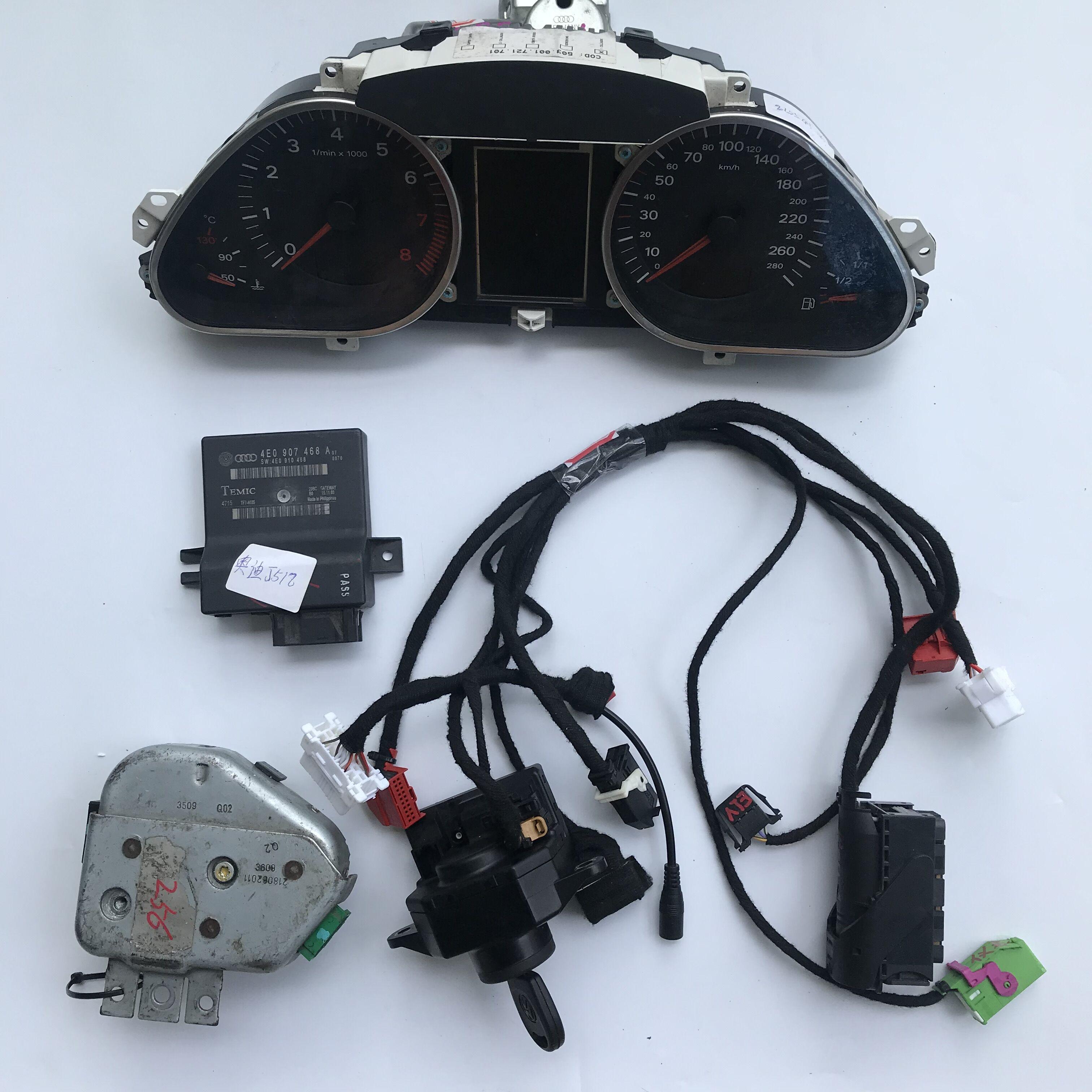 Audi J518 Test Platform full set with Cluster