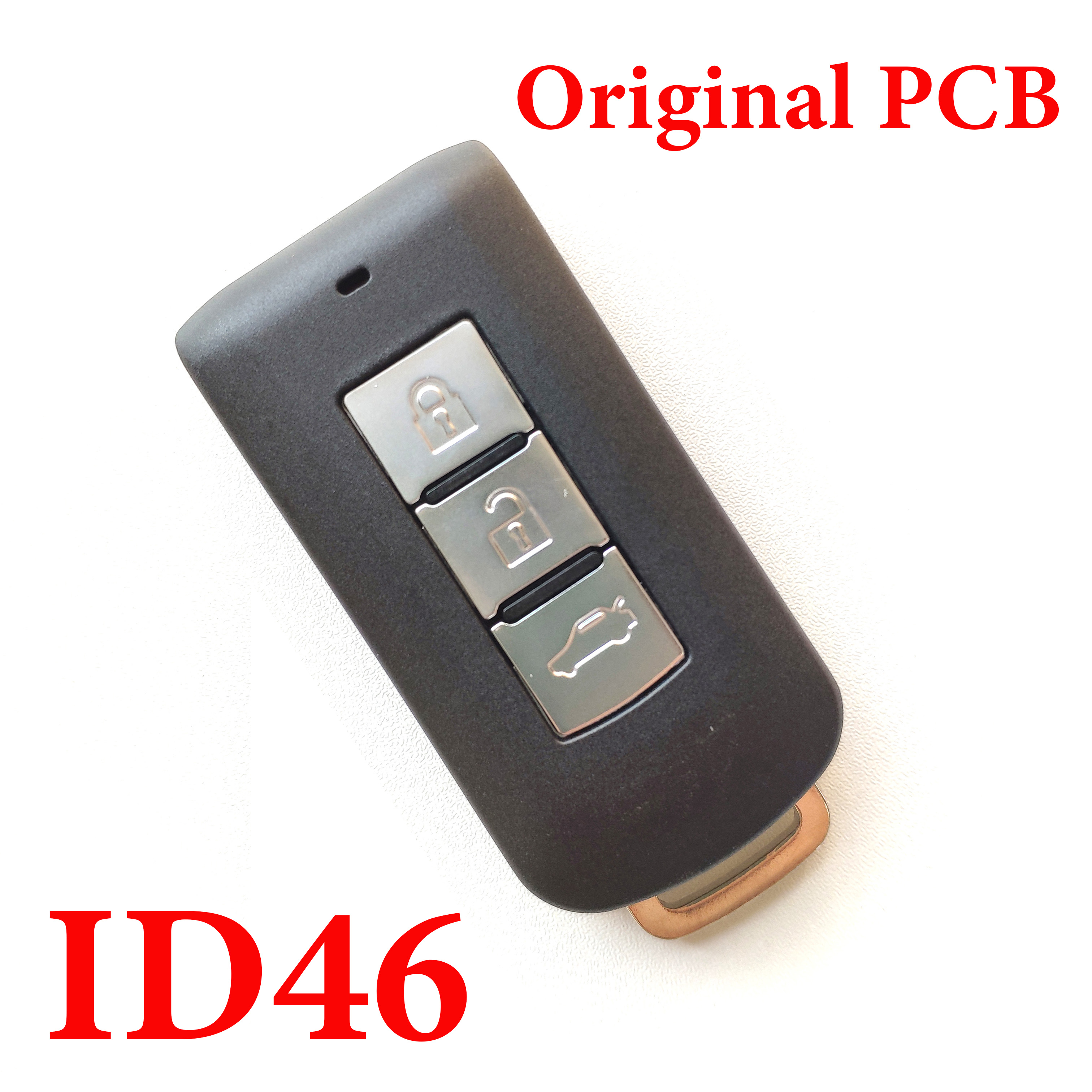 Mitsubishi 3 Buttons 434 MHz Smart Key with Original PCB Board - ID46