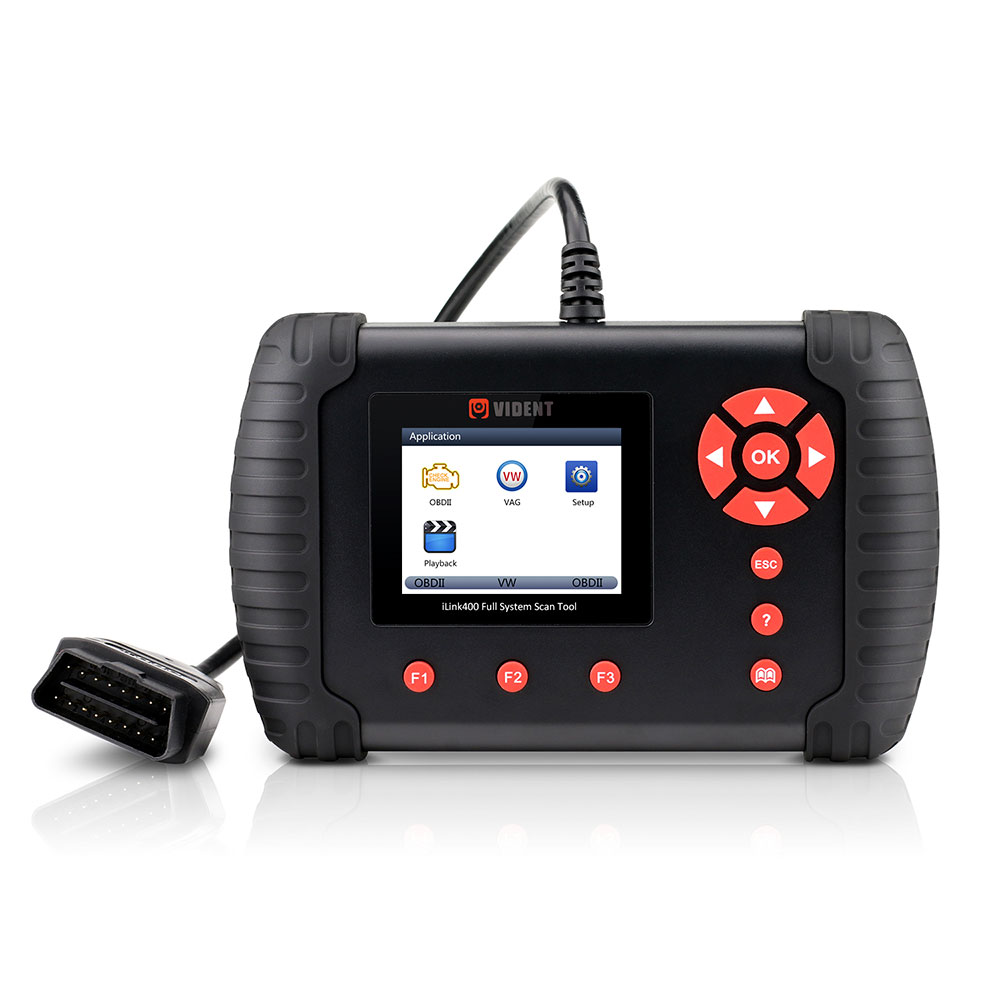 Original VIDENT iLink400 Full System Scan Tool Single Make Support ABS/SRS/EPB/DPF Regeneration/Oil Reset