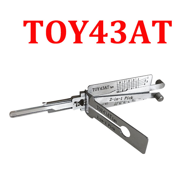 Original LISHI TOY43AT Ign Auto Pick and Decoder for Old Toyota