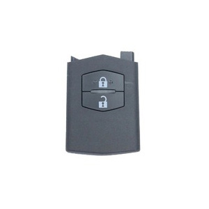 2 Buttons Flip Remote Key Shell without Head for Mazda - Pack of 5