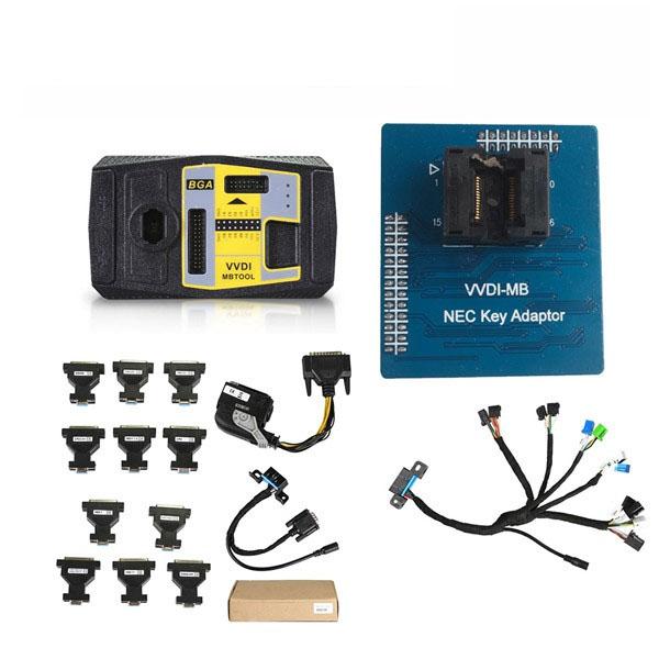 Xhorse VVDI MB BGA Tool+5 in 1 EIS ELV Test cables+NEC Key Adaptor +ECU Renew Cable