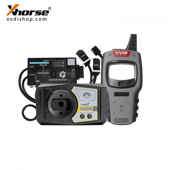 V7.0.2 Xhorse VVDI2 Full Version All 13 Software Activated [Send mini key tool + BMW FEM/BDC Test Platform+ 5 Smart Remotes]