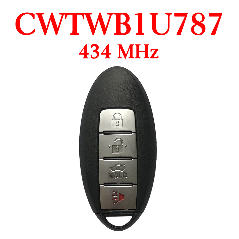 434 MHz 3+1 Buttons Smart Proximity Key for Infiniti 2011-2018 - CWTWB1U787