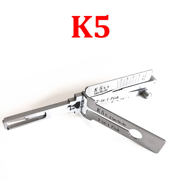 Original Lishi K5 Decoder and Pick for KIA