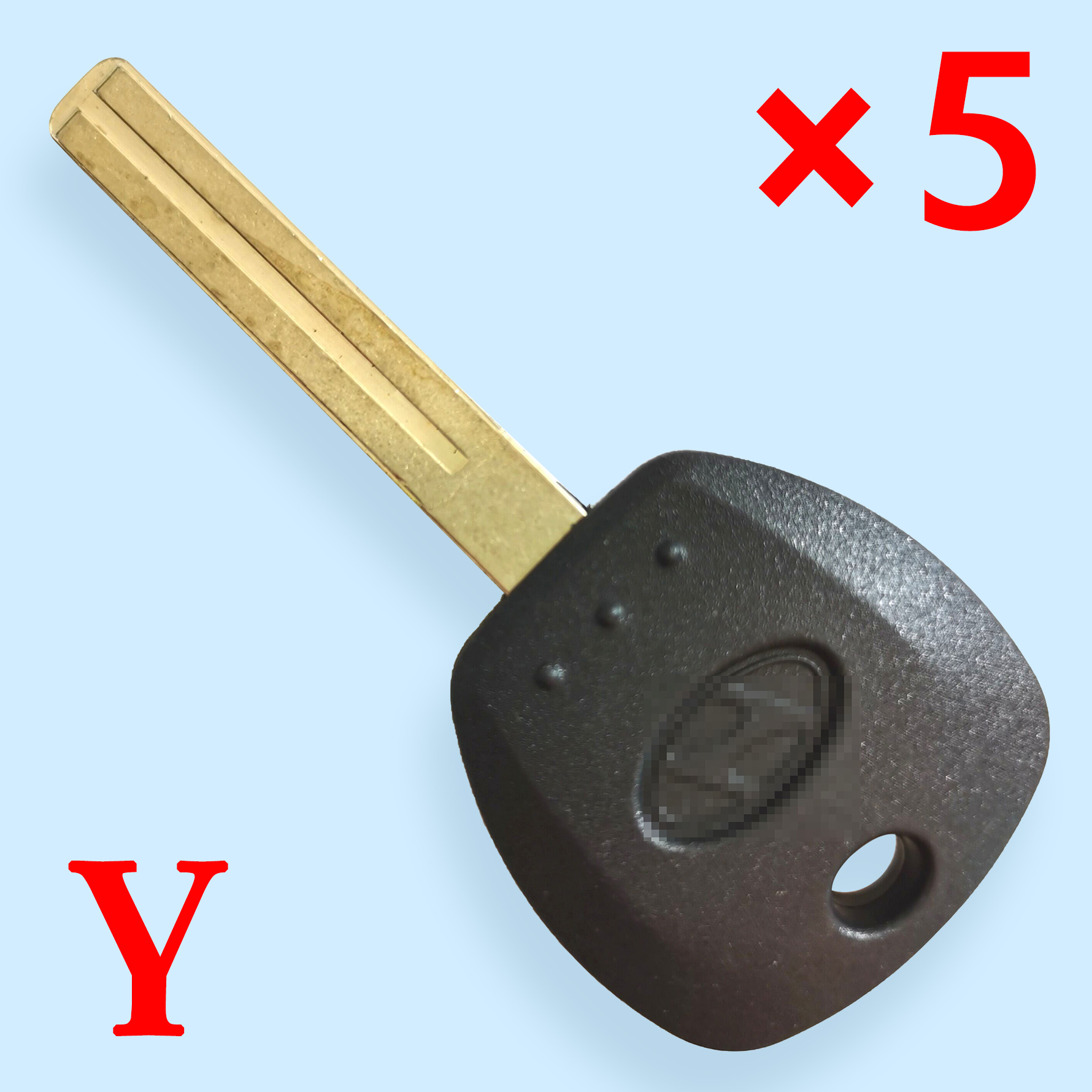 Key Shell for KIA Amante with Long Laser Blade  - Pack of 5
