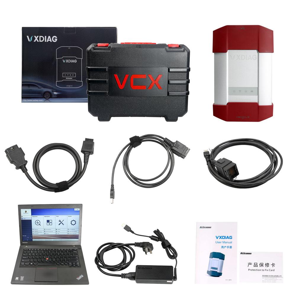 VXDIAG VCX-DoIP Porsche Piwis 3 III with V37.900 Piwis Software on Lenovo T440P Ready to Use