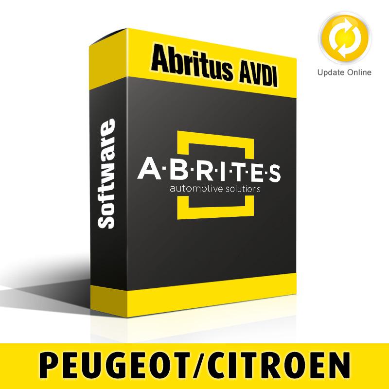 PN013 Peugeot/Citroen BSI Instrument Cluster Data Manager Software for Abritus AVDI