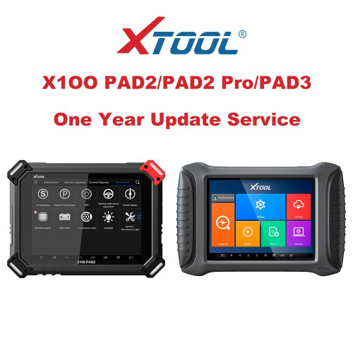 One Year Update Service for XTOOL X100 PAD2/PAD2 Pro/PAD3