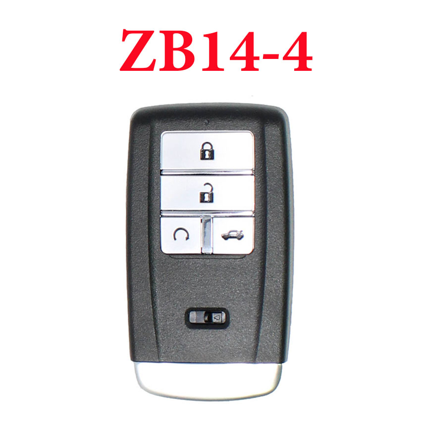 Universal ZB14-4 KD Smart Key Remote for KD-X2 - Pack of 5
