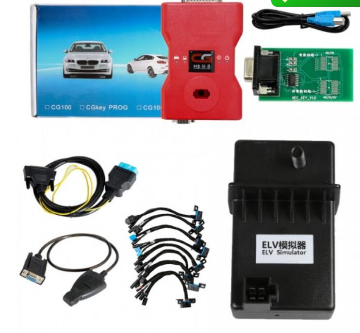 2020 CGDI Prog MB Benz Key Programmer Support All Key Lost with Full Adapters for ELV Repair