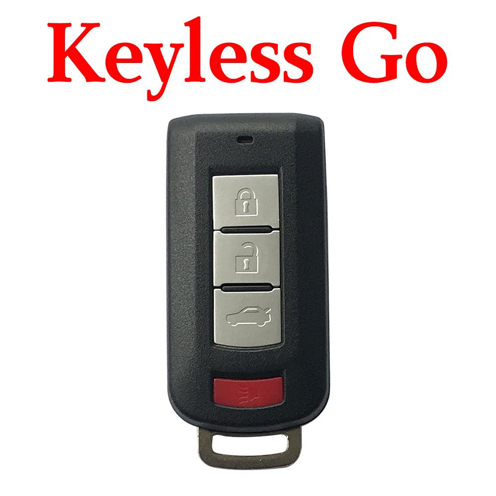 3+1 buttons 315 MHz Smart Proximity Key for Mitsubishi Lancer Outlander 2008 ~ 2014