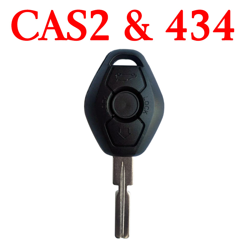 434 MHz BMW CAS2 Remote Key with Logo