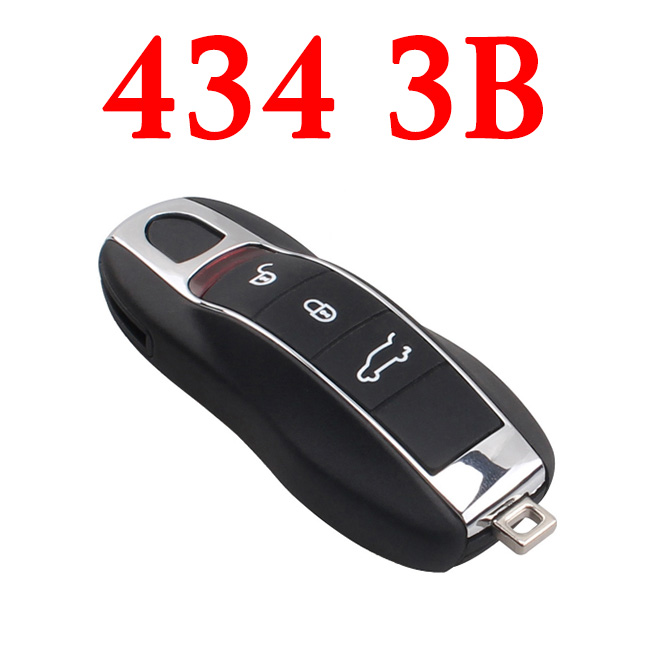 3 Buttons 434 MHz Remote Key for Porsche