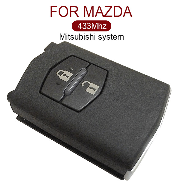 AK026021 2 Button Remote Key 433MHz Mitsubishi System for Mazda