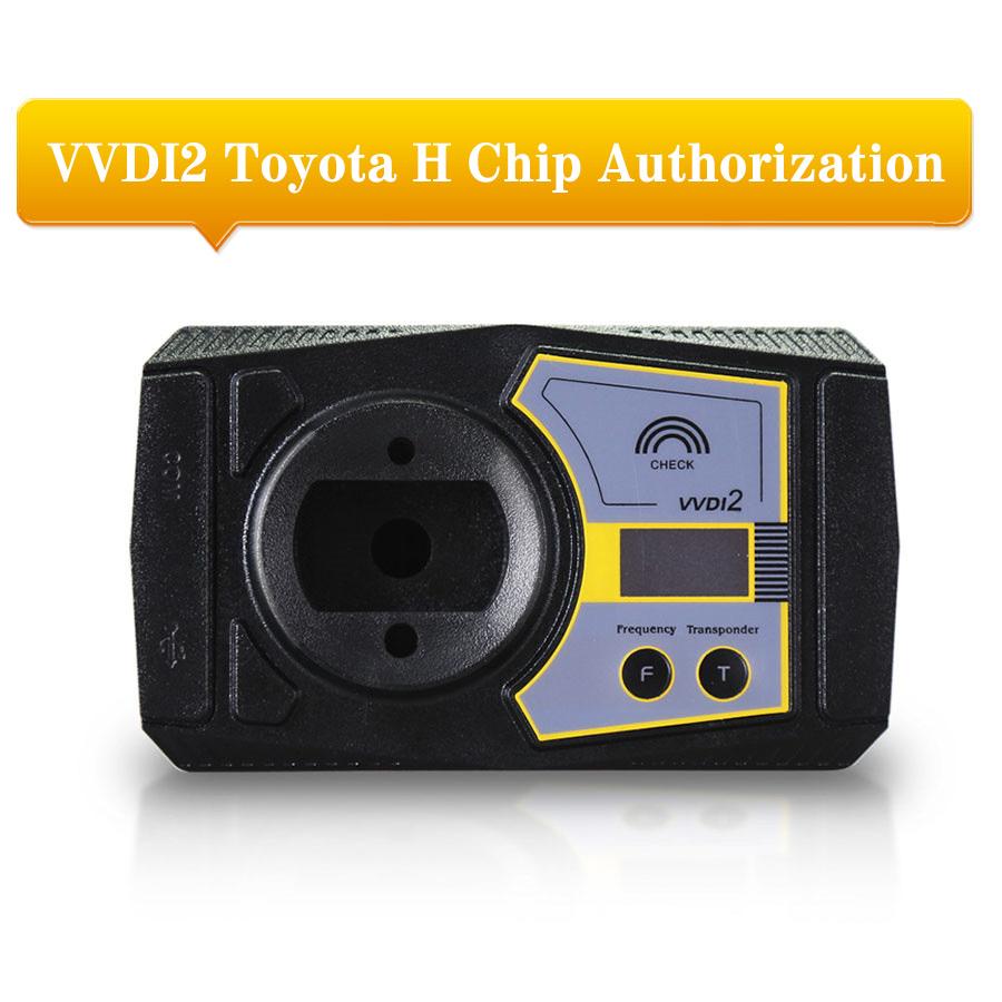 Toyota H Chip Activation Service for VVDI2