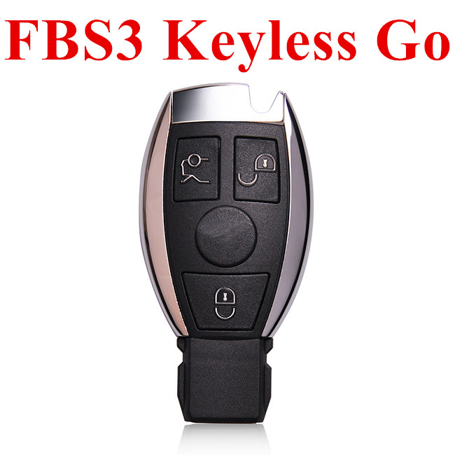 3 Buttons 433 MHz Reusable FBS3 BGA Keyless Go Smart Key for Mercedes Benz