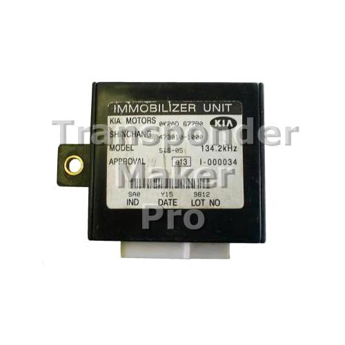 TMPro Software Module 77 for KIA Immobox Shinchang