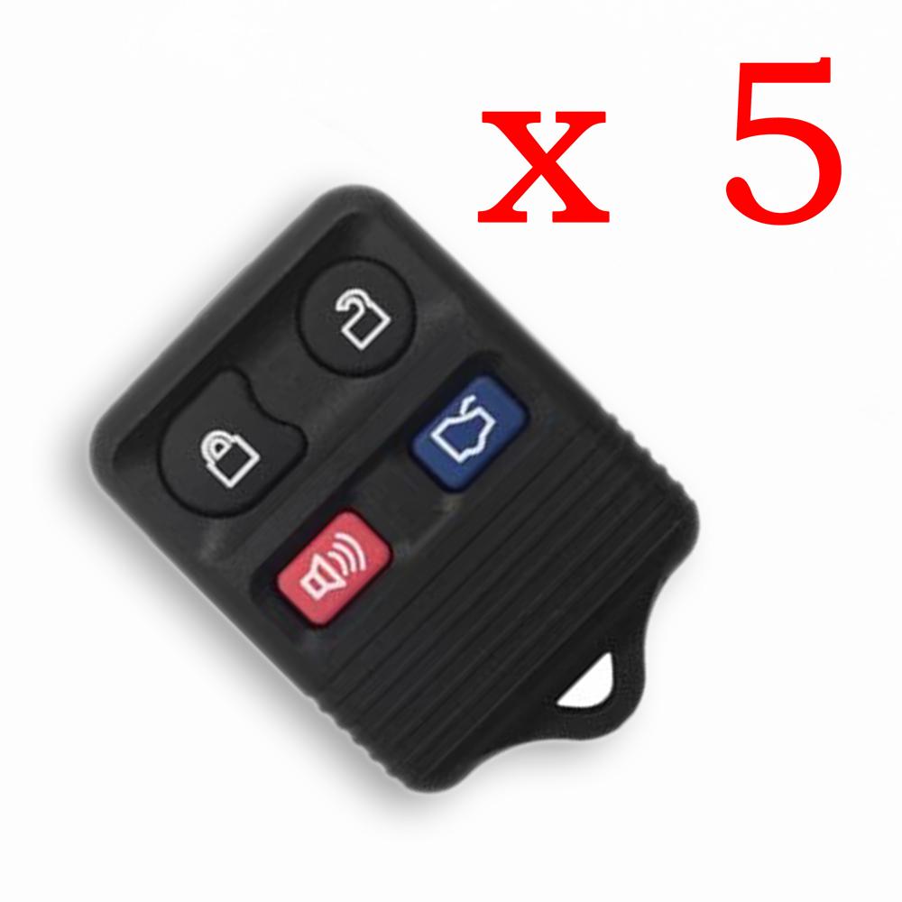 Universal Remote Key 4 Button for FORD work with VVDI Key Tool VVDI2 5pcs/lot - XKFO02EN