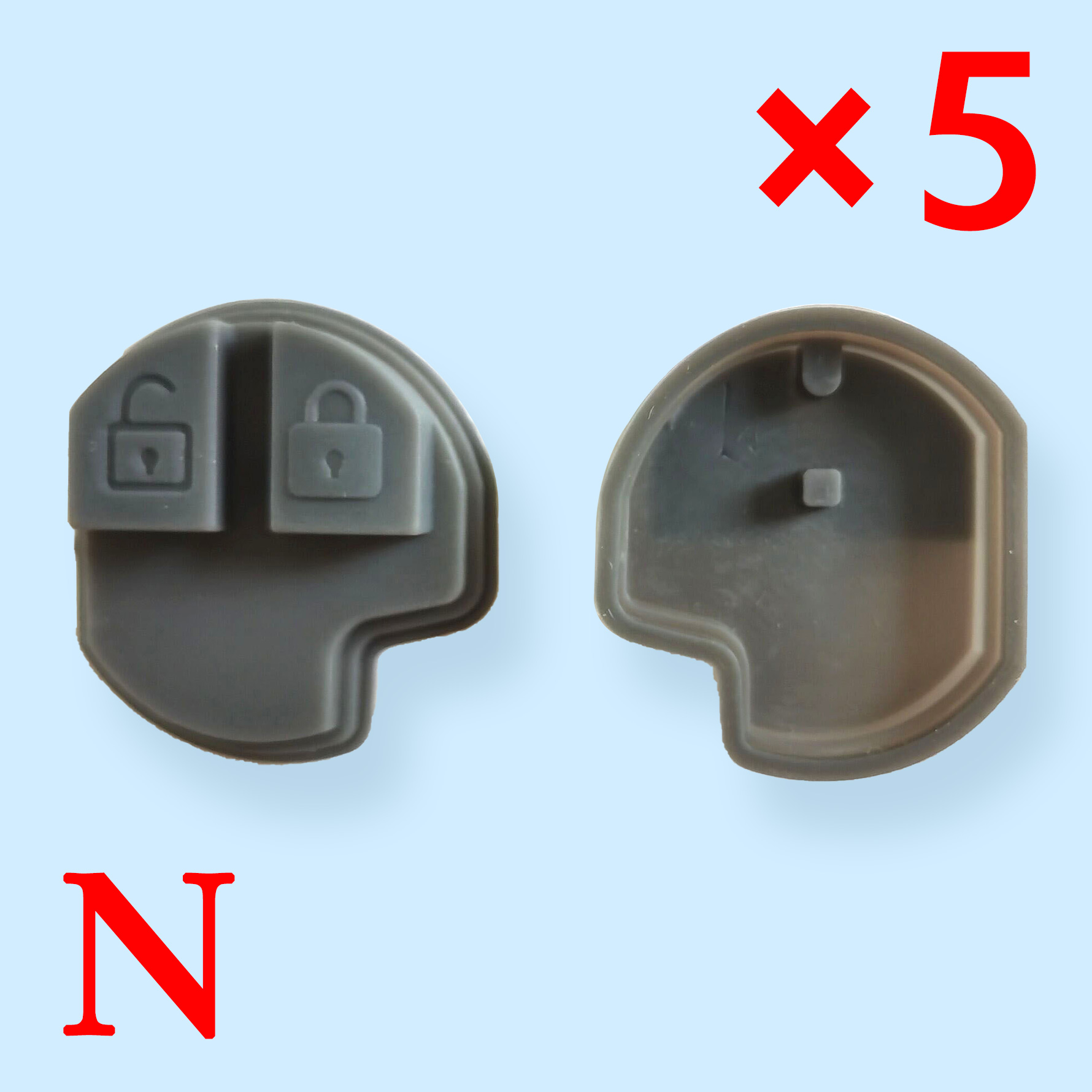Rubber Pad  for Suzuki  - Pack of 5