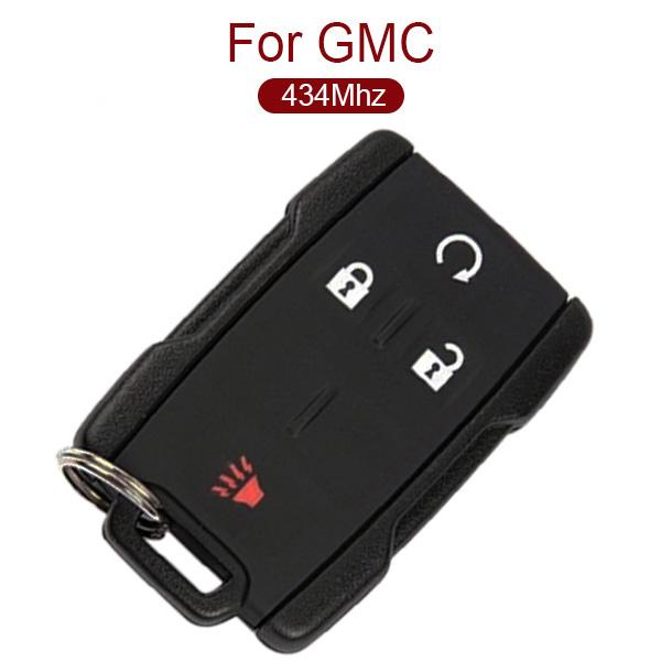 AK019015 for GMC Smart Remote Key 3+1 Button 433MHz