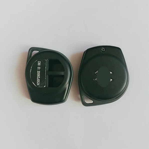 2 Buttons Car key Case Shell For Suzuki without blade - Pack of 5