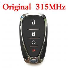Original 4 Buttons 315 MHz 2016-2019 Chevrolet Volt / 4-Button Smart Key / PN: 13508767 / HYQ4AA (OEM)