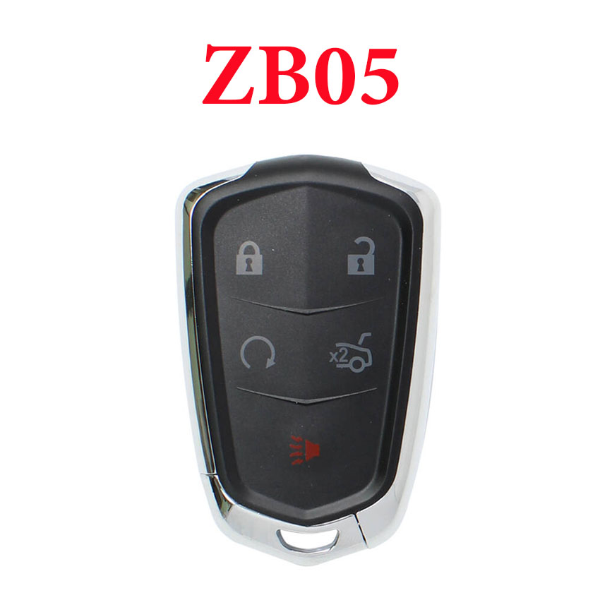 Universal ZB05 KD Smart Key Remote for KD-X2 - Pack of 5