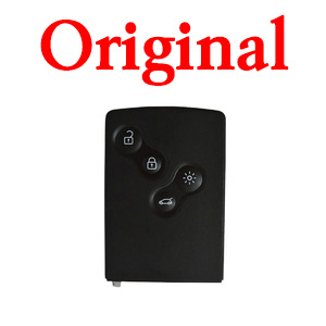 Original 4 Buttons 434 Mhz Smart Card for Renault Clio 4 - PCF7941