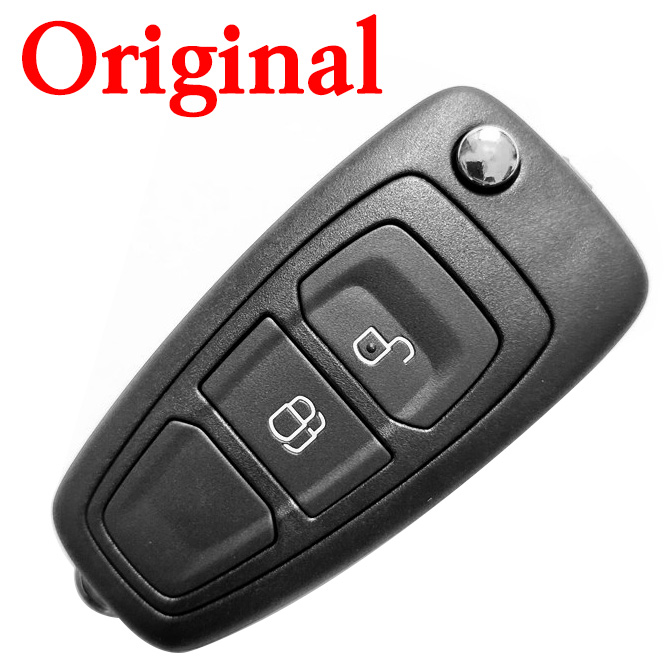Original 2 Buttons Flip Key For Ford (No blade)