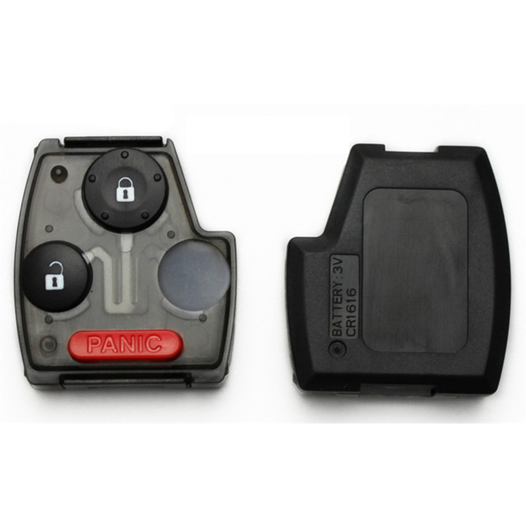 2+1 Button Key Shell Rubber Pad for Honda 10 pcs