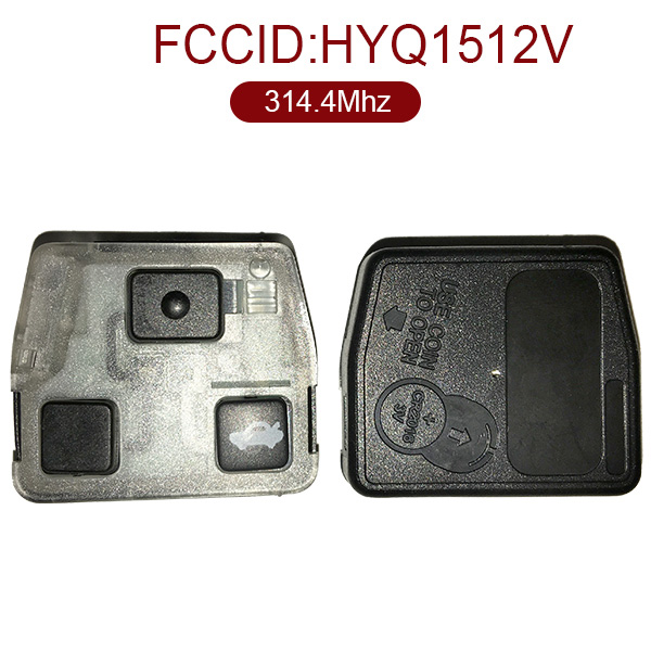 3 Buttons 434 MHz Remote Set Interior for Toyota - HYQ1512V