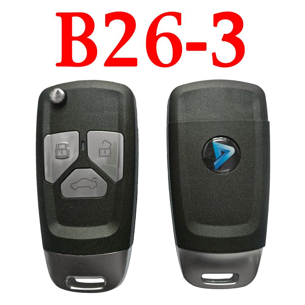 KEYDIY B26-3 KD Universal Remote Control - 5 pcs