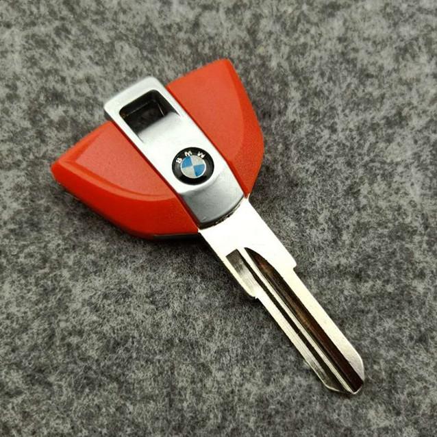 Transponder Key Shell for BMW C600 Sport C650GT Motorbike Red Color