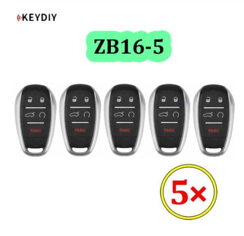 Universal ZB16-5 KD Smart Key Remote for KD-X2 - Pack of 5