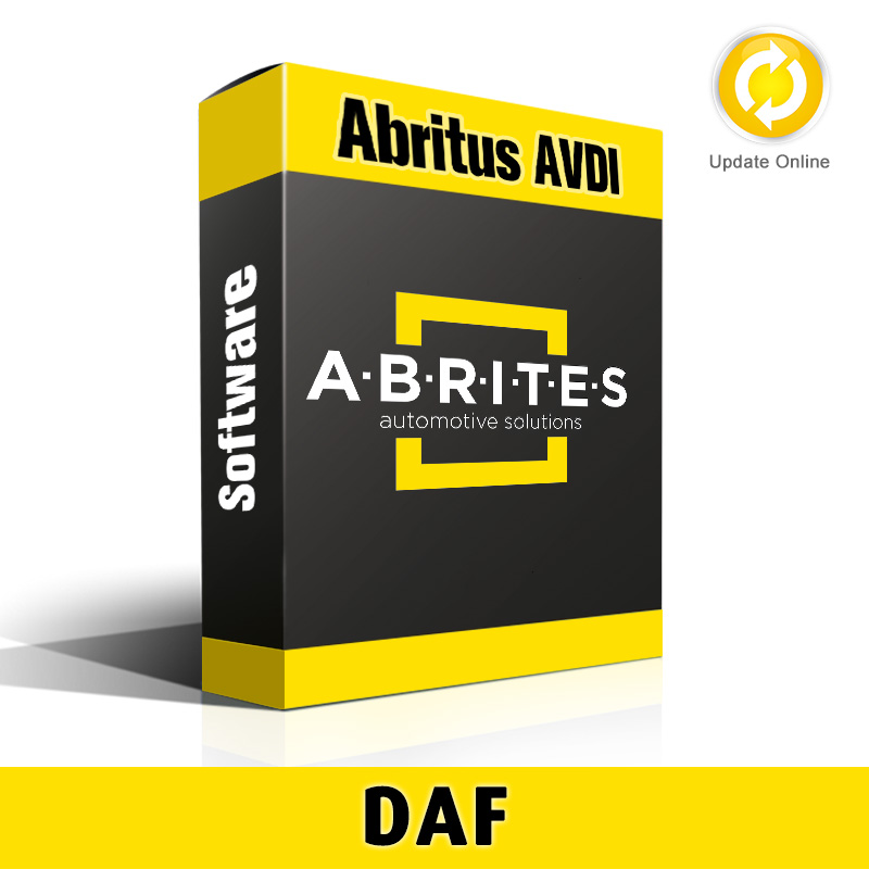 DF002 DAF Key Learning Software for Abritus AVDI