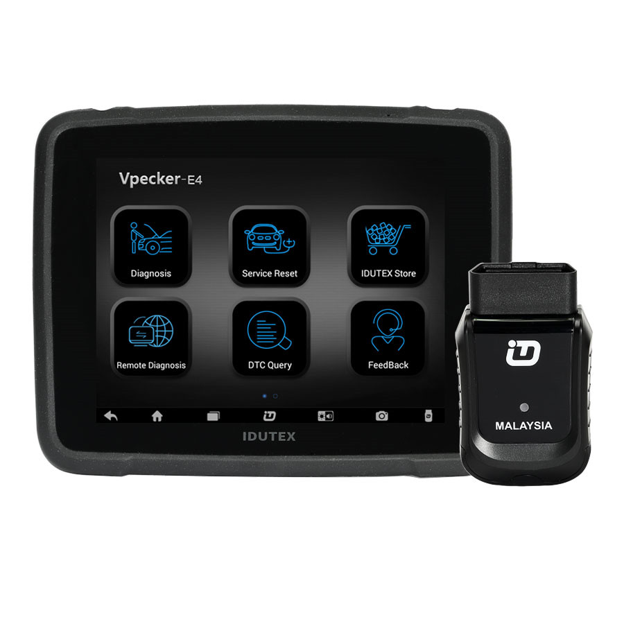VPECKER E4 V8.3 Malaysia Version Multi Functional Tablet Diagnostic Tool Wifi Scanner for Android
