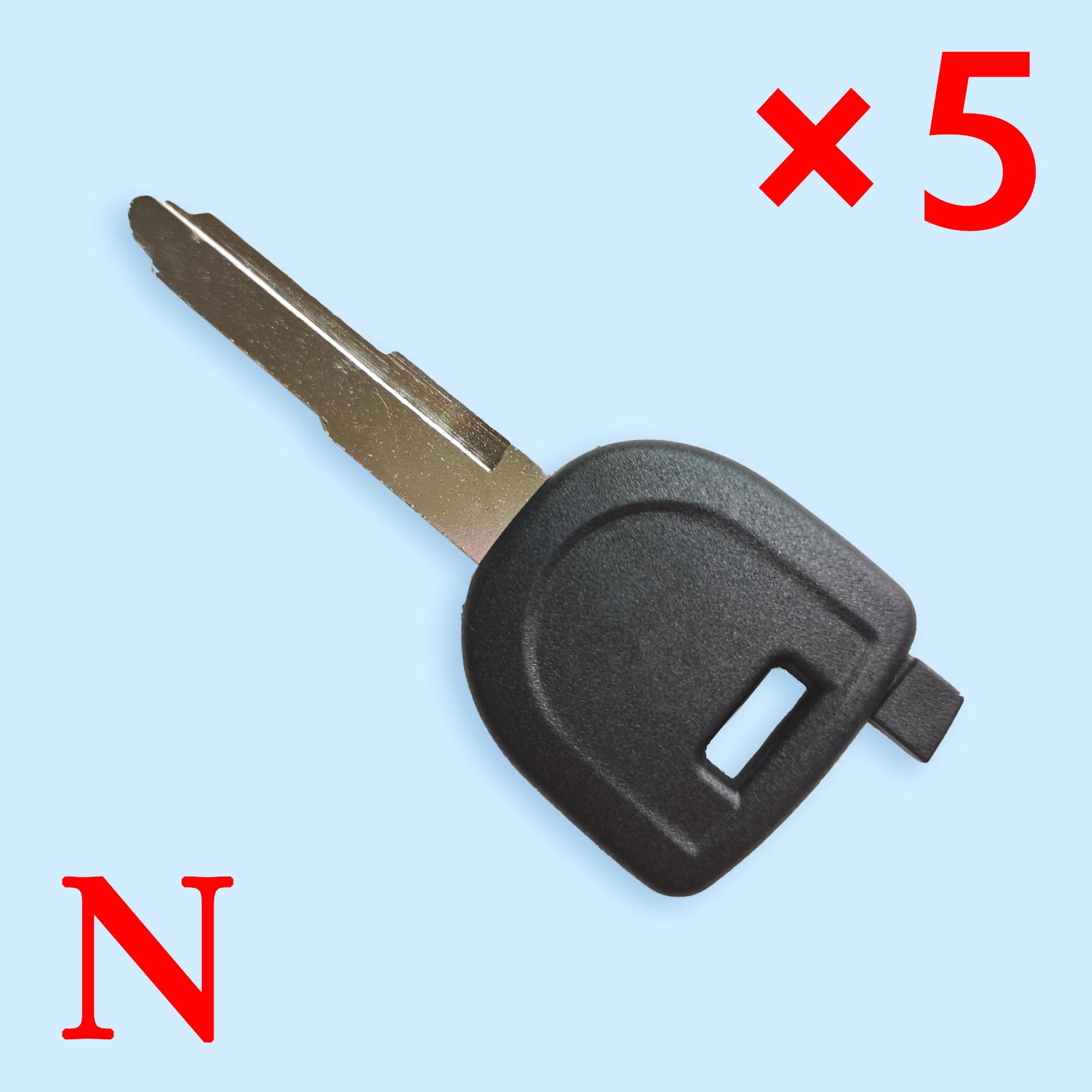 Transponder Key Shell For Mazda - Pack of 5