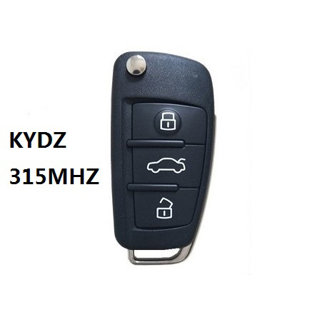 KYDZ AUDI A6L Wireless Type Remote Key 3 Buttons - Pack of 5