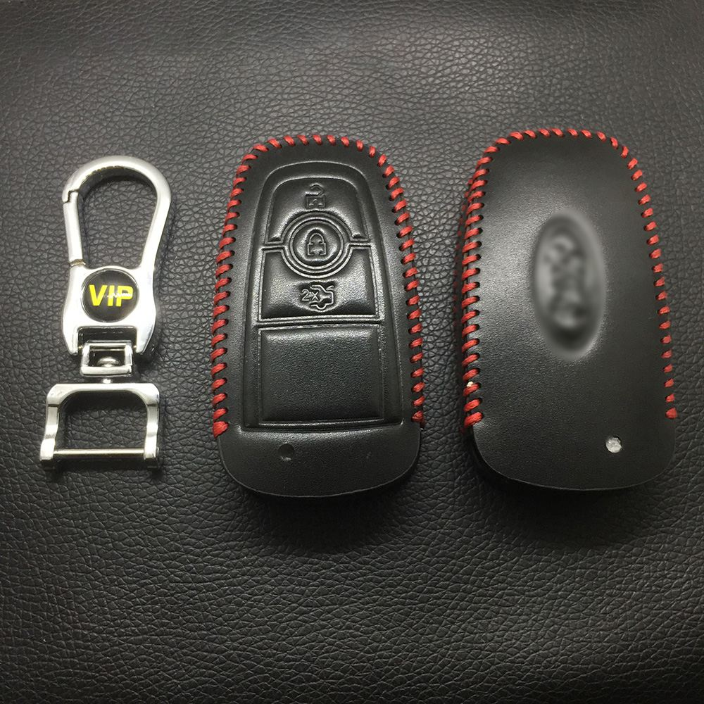 Leather Case for Ford Mondeo 3 Buttons - 5 Sets