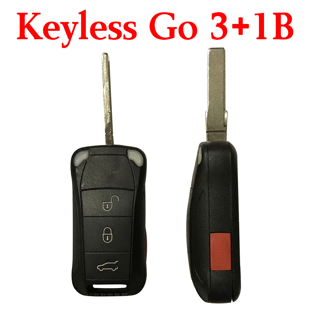 3+1 Buttons 315 MHz Smart Proximity Key for 2006-2011 Porsche Cayenne - KR55WK45032